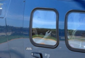 2 December 2012 - Madonna Leaving for the Parque Olimpico Cidade do Rock by Helicopter, Lagao (7)