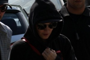 2 December 2012 - Madonna Leaving for the Parque Olimpico Cidade do Rock by Helicopter, Lagao (10)