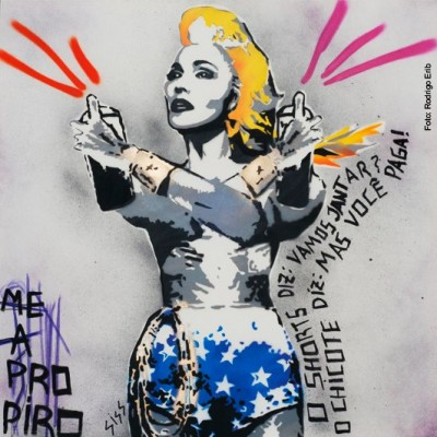 Madonna Superstar Keep Walking Brazil Special Edition Single Cover