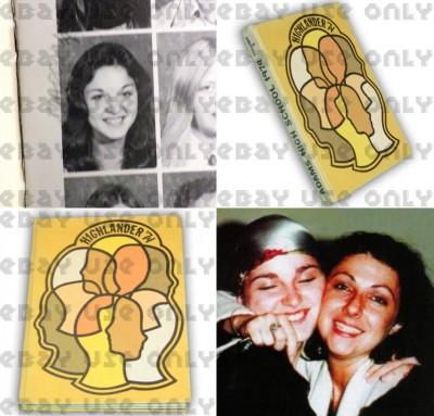 Madonna 1974 Rochester Adams High School yearbook