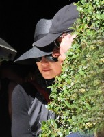 Madonna leaving Four Seasons Hotel in Buenos Aires (1)