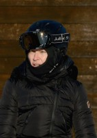 Madonna skiing in Gstaad, Switzerland (6)