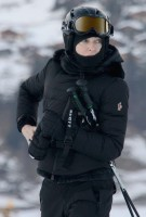 Madonna skiing in Gstaad, Switzerland (11)