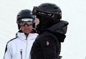 Madonna skiing in Gstaad, Switzerland - Part 2 (2)