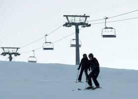 Madonna skiing in Gstaad, Switzerland - Part 2 (4)