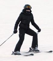 Madonna skiing in Gstaad, Switzerland - Part 2 (6)