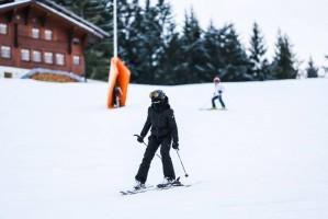 Madonna skiing in Gstaad, Switzerland - Part 2 (16)