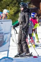 Madonna skiing in Gstaad, Switzerland - Part 2 (30)