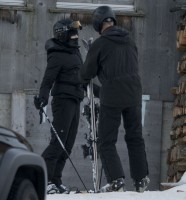 Madonna skiing in Gstaad, Switzerland - Part 2 (43)
