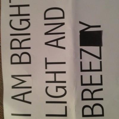 Madonna Instagram Bright Light Breezy