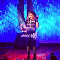 Madonna dressed up as boy scout at the GLAAD Media Awards (3)