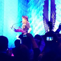Madonna dressed up as boy scout at the GLAAD Media Awards (5)
