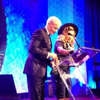 Madonna dressed up as boy scout at the GLAAD Media Awards - Anderson Cooper (3)