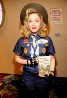Madonna dressed up as boy scout at the GLAAD Media Awards - Anderson Cooper - Backstage (7)