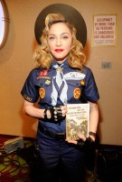 Madonna dressed up as boy scout at the GLAAD Media Awards - Anderson Cooper - Backstage (8)