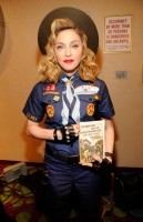 Madonna dressed up as boy scout at the GLAAD Media Awards - Anderson Cooper - Backstage (9)