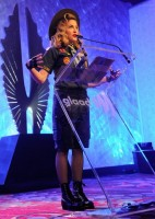 Madonna dressed up as boy scout at the GLAAD Media Awards - Anderson Cooper - Backstage (18)