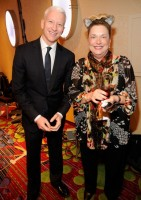 Madonna dressed up as boy scout at the GLAAD Media Awards - Anderson Cooper - Backstage - HQ (29)
