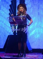 Madonna dressed up as boy scout at the GLAAD Media Awards - Anderson Cooper - Backstage - HQ (33)