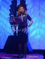 Madonna dressed up as boy scout at the GLAAD Media Awards - Anderson Cooper - Backstage - HQ (38)