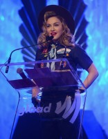 Madonna dressed up as boy scout at the GLAAD Media Awards - Anderson Cooper - Backstage - HQ (43)