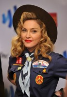 Madonna dressed up as boy scout at the GLAAD Media Awards - Anderson Cooper - Backstage - HQ (52)