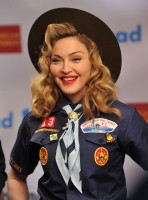 Madonna dressed up as boy scout at the GLAAD Media Awards - Anderson Cooper - Backstage - HQ (56)