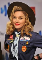 Madonna dressed up as boy scout at the GLAAD Media Awards - Anderson Cooper - Backstage - HQ (59)