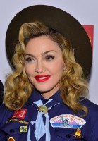 Madonna dressed up as boy scout at the GLAAD Media Awards - Anderson Cooper - Backstage - HQ (68)