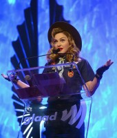 Madonna dressed up as boy scout at the GLAAD Media Awards - Anderson Cooper - Backstage - HQ (75)