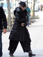 Madonna out and about New York, Kabbalah Centre - 23 March 2013 (3)