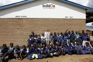Madonna and family visiting Malawi - Mkoko Primary School - 2 April 2013 UPDATE (1)