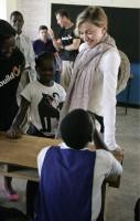 Madonna vistis Mkoko Primary School with family in Kasungu Malawi - 2 April 2013 (11)