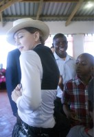Madonna visits Mphandula Childrencare Centre in Namitete, Malawi - 5 April 2013 (6)