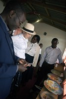 Madonna visits Mphandula Childrencare Centre in Namitete, Malawi - 5 April 2013 (9)