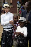 Madonna visits Mphandula Childrencare Centre in Namitete, Malawi - 5 April 2013 (11)