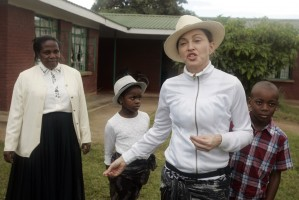 Madonna visits Mphandula Childrencare Centre in Namitete, Malawi - 5 April 2013 (16)