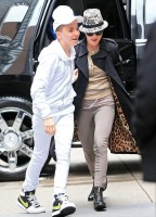 Madonna at the Kabbalah Centre, New York [13 April 2013] (4)