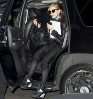 Madonna out and about, New York - 15 April 2013 (1)