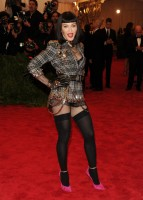 Madonna attends the Met Gala at the MoMa in New York - 6 May 2013 - Punk (1)