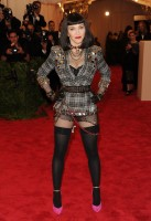 Madonna attends the Met Gala at the MoMa in New York - 6 May 2013 - Punk (2)