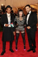 Madonna attends the Met Gala in New York - 6 May 2013 - Punk (5)