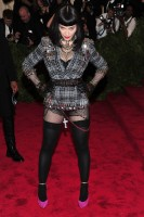 Madonna attends the Met Gala in New York - 6 May 2013 - Punk (7)