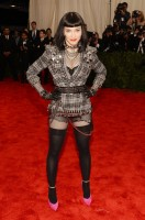 Madonna attends the Met Gala in New York - 6 May 2013 - Punk (10)