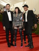 Madonna attends the Met Gala at the MoMa in New York - 6 May 2013 - Punk (15)