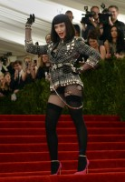 Madonna attends the Met Gala at the MoMa in New York - 6 May 2013 - Punk (18)