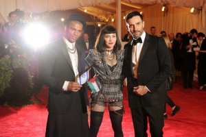 Madonna attends the Met Gala at the MoMa in New York - 6 May 2013 - Punk (20)