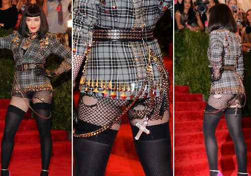 Madonna's butt at the Met Gala