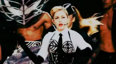 Madonna MDNA Tour Teaser by Epix - Vogue Screengrab