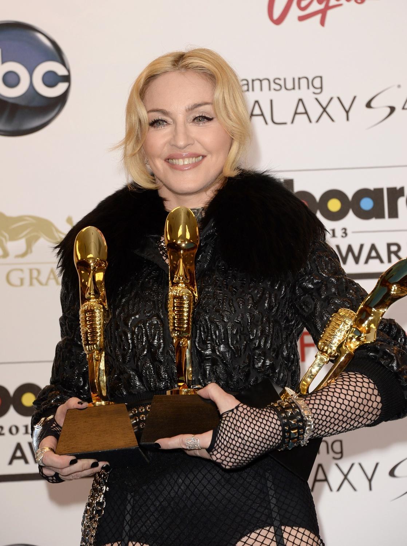 Madonna At The Billboard Music Awards Press Room 19 May